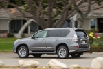 2018 Lexus GX460 in Nebula Gray Pearl - Driving Rear Left Three-quarter View