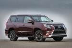 2018 Lexus GX460 Sport Design Package in Claret Mica - Static Front Right Three-quarter View