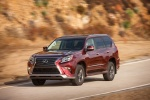 2018 Lexus GX460 Sport Design Package in Claret Mica - Driving Front Left View