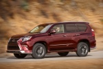 2018 Lexus GX460 Sport Design Package in Claret Mica - Driving Front Left Three-quarter View