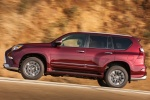 2018 Lexus GX460 Sport Design Package in Claret Mica - Driving Side View