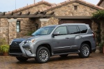 2018 Lexus GX460 in Nebula Gray Pearl - Static Front Left Three-quarter View
