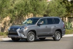 2018 Lexus GX460 in Nebula Gray Pearl - Driving Front Left Three-quarter View