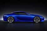 2018 Lexus LC 500h Coupe in Nightfall Mica - Static Side View