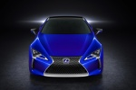 2018 Lexus LC 500h Coupe in Nightfall Mica - Static Frontal View