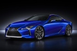 2018 Lexus LC 500h Coupe in Nightfall Mica - Static Front Left View