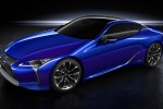 2018 Lexus LC 500h Coupe in Nightfall Mica - Static Front Left Three-quarter View