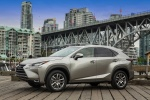 2016 Lexus NX200t in Atomic Silver - Static Front Left Three-quarter View
