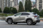 2016 Lexus NX200t in Atomic Silver - Static Rear Left Three-quarter View