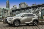 2017 Lexus NX200t in Atomic Silver - Static Front Left Three-quarter View