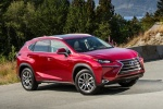 2017 Lexus NX300h in Matador Red Mica - Static Front Right Three-quarter View