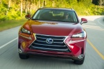 2017 Lexus NX300h in Matador Red Mica - Driving Frontal View