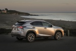 2019 Lexus NX300 in Atomic Silver - Static Rear Right Three-quarter View