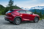 2019 Lexus NX300h in Matador Red Mica - Static Rear Right Three-quarter View