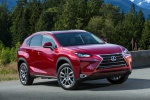 2019 Lexus NX300h in Matador Red Mica - Static Front Right Three-quarter View