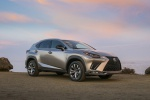 2019 Lexus NX300 in Atomic Silver - Static Front Right Three-quarter View