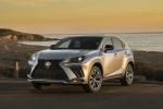 2019 Lexus NX300 in Atomic Silver - Static Front Left View