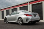 2016 Lexus RC350 F-Sport in Silver Lining Metallic - Static Rear Left Three-quarter View