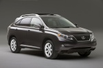 2010 Lexus RX350 in Obsidian - Static Front Right Three-quarter View