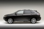 2010 Lexus RX350 in Obsidian - Static Side View