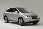 2010 Lexus RX450h in Tungsten Pearl - Static Front Right Three-quarter View