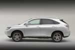 2010 Lexus RX450h in Tungsten Pearl - Static Side View