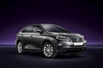 2014 Lexus RX450h in Nebula Gray Pearl - Static Front Right Three-quarter View