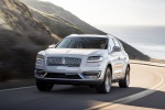 2019 Lincoln Nautilus 2.7T AWD in White Platinum Metallic Tri-Coat - Driving Front Left View