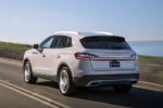 2019 Lincoln Nautilus 2.7T AWD in White Platinum Metallic Tri-Coat - Driving Rear Left Three-quarter View