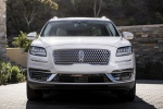 2019 Lincoln Nautilus 2.7T AWD in White Platinum Metallic Tri-Coat - Static Frontal View
