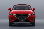 2017 Mazda CX-3 in Soul Red Metallic - Static Frontal View