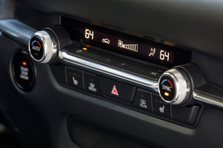 2020 Mazda CX-30 Premium Package AWD HVAC Controls