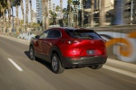 2020 Mazda CX-30 Premium Package AWD in Soul Red Crystal Metallic - Driving Rear Left View