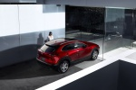2020 Mazda CX-30 Premium Package AWD in Soul Red Crystal Metallic - Static Rear Right Three-quarter Top View