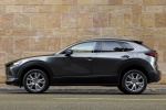 2020 Mazda CX-30 AWD in Machine Gray Metallic - Static Left Side View