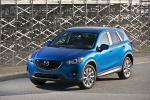 2014 Mazda CX-5 in Sky Blue Mica - Static Front Left Top View