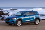 2014 Mazda CX-5 in Sky Blue Mica - Static Front Left Three-quarter View