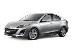 2010 Mazda 3s Sedan in Liquid Silver Metallic - Static Front Left Three-quarter View