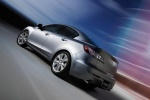 2010 Mazda 3s Sedan in Liquid Silver Metallic - Driving Rear Left Three-quarter View