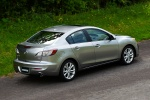 2010 Mazda 3s Sedan in Liquid Silver Metallic - Driving Rear Right View