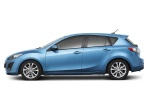 2010 Mazda 3s Hatchback in Celestial Blue Mica - Static Side View