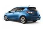2010 Mazda 3s Hatchback in Celestial Blue Mica - Static Rear Left Three-quarter View