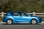 2010 Mazda 3s Hatchback in Celestial Blue Mica - Driving Side View