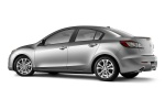 2011 Mazda 3s Sedan in Liquid Silver Metallic - Static Rear Left Three-quarter View