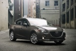 2015 Mazda Mazda3 Hatchback in Meteor Gray Mica - Static Front Right View