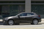 2015 Mazda Mazda3 Hatchback in Meteor Gray Mica - Static Side View