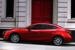 2015 Mazda Mazda3 Sedan in Soul Red Metallic - Static Side View