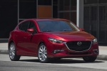 2017 Mazda Mazda3 Grand Touring 5-Door Hatchback in Soul Red Metallic - Static Front Right View