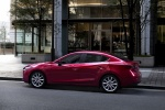 2018 Mazda Mazda3 Grand Touring Sedan in Soul Red Metallic - Static Side View