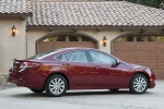 2012 Mazda 6i in Fireglow Red - Static Right Side View